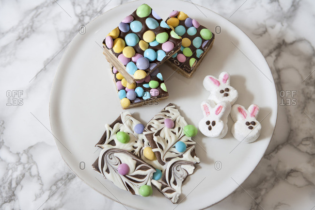 Assorted Easter Candy, Close-Up