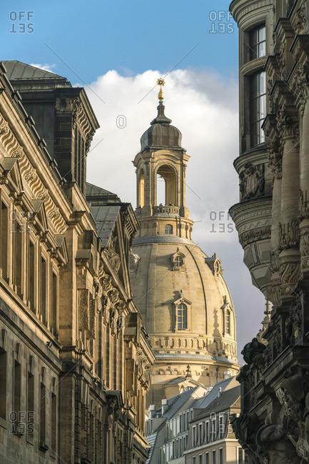 Germany- Saxony- Dresden- Dresden Frauenkirche