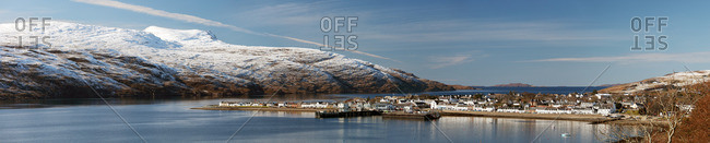 Village of Ullapool in the Scottish Highlands