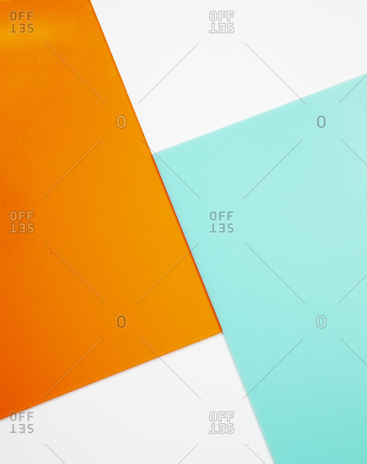 Translucent colored shapes