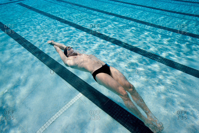 Swimmer training from the Offset Collection