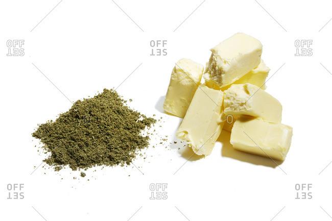 Marijuana butter ingredients
