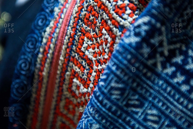Hmong batik textile from northern Thailand