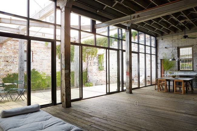 Interior of spacious house