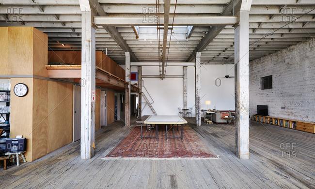 Interior of spacious home