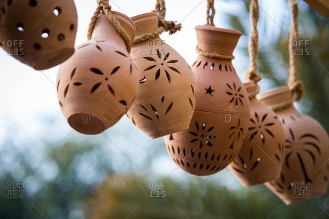 Pottery for sale in Nizwa Oman