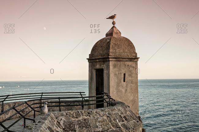 Fort, Prince's Palace, Monte Carlo, Monaco