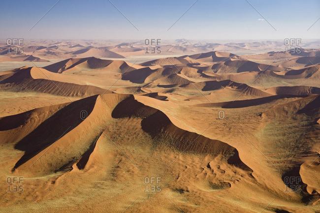 Africa- Namibia- Namib Desert- aerial view