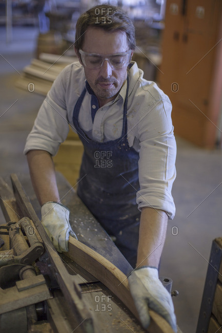 Cooperage- cooper working with wood