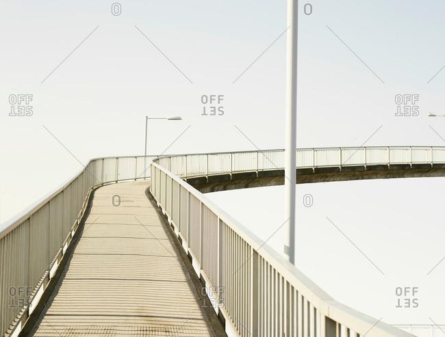 Bridge in Birkenhead, England - Offset