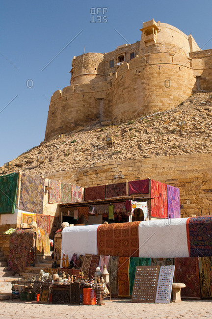 Jaisalmer Fort, the 'Golden Fort', is one of the largest forts in the world Jaisalmer, Rajasthan, India