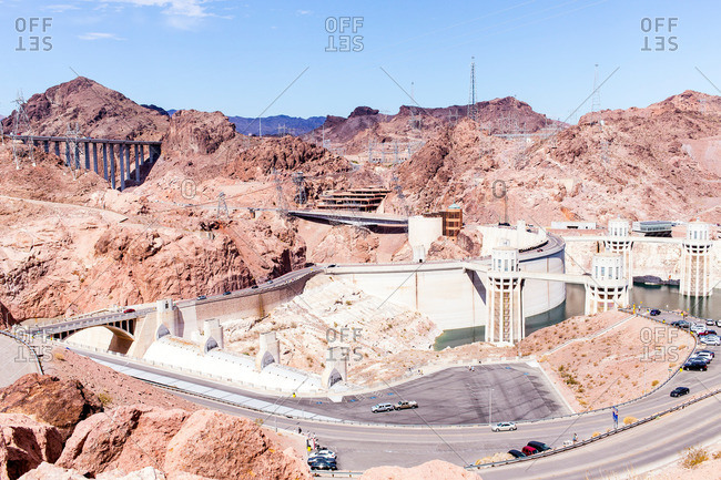 Hoover Dam, Nevada, California, USA