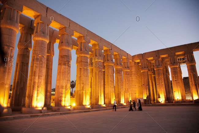 Karnak Temple, Egypt - Offset Collection