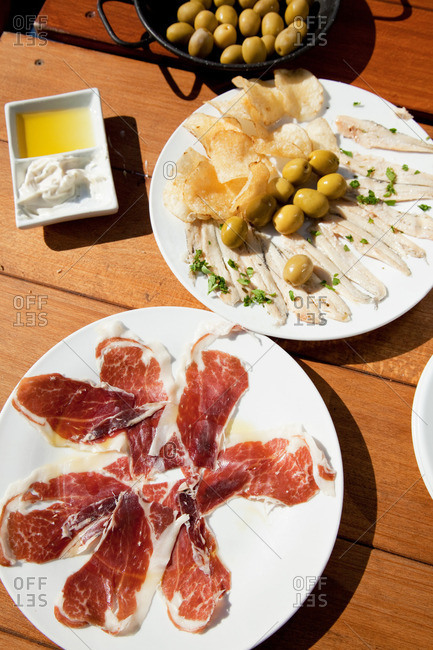 Tapas selection from the Offset Collection