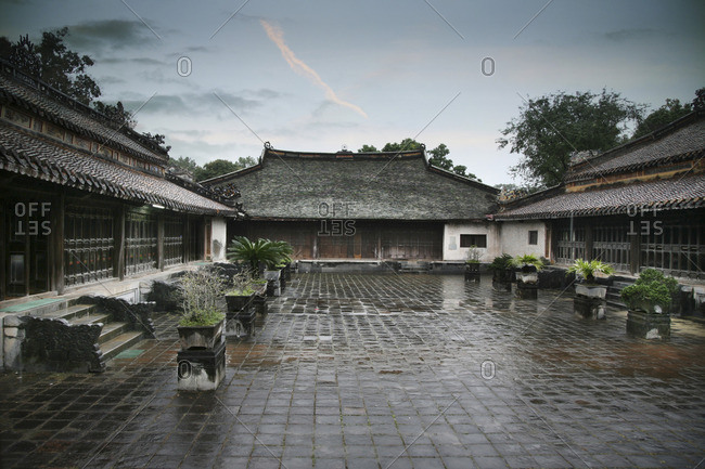 Courtyard in Vietnam