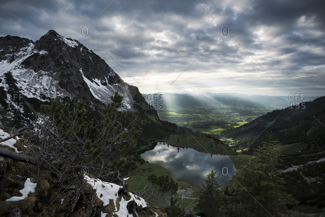 Mountain scape in Germany