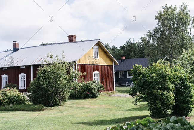 Rustic cottages in Finland