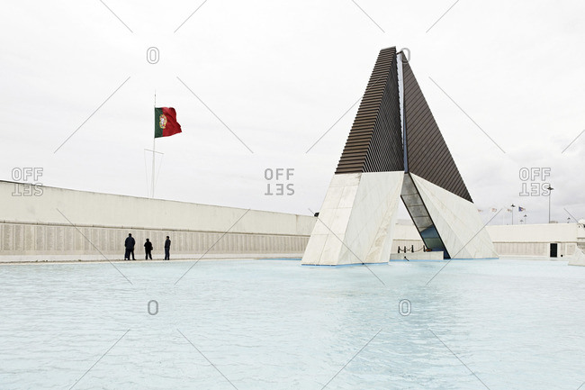 """Monument to the Overseas Combatants, """"Monumento Combatentes Ultramar"""", Belem, Lisbon, Portugal"""