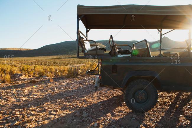 Safari truck, South Africa