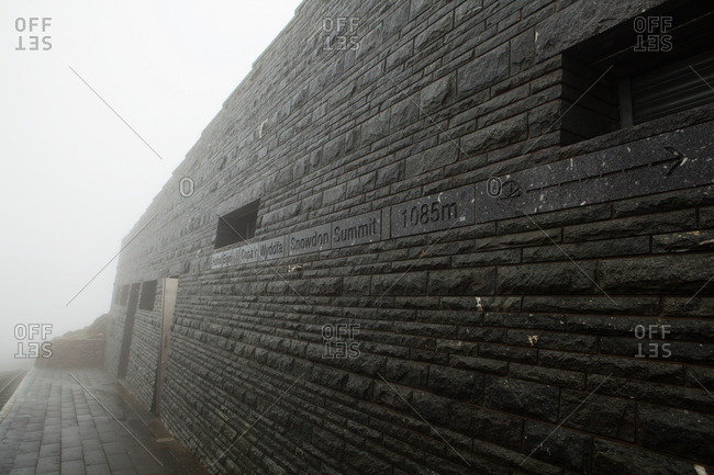 Snowdon Visitor Centre, North Wales, UK