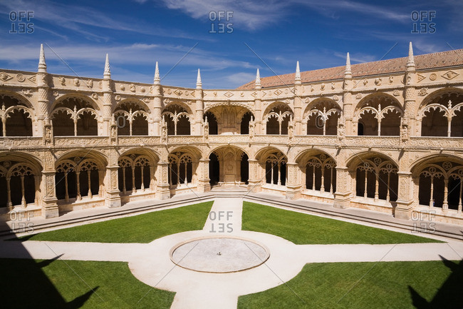 Lisbon, Portugal - April 8, 2011: Jeronimos Monastery