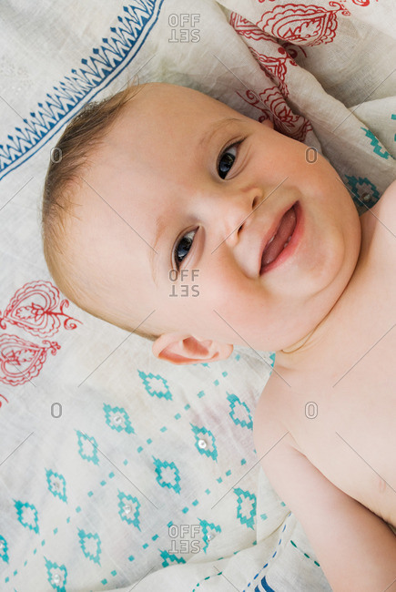 Happy baby boy - Offset Collection