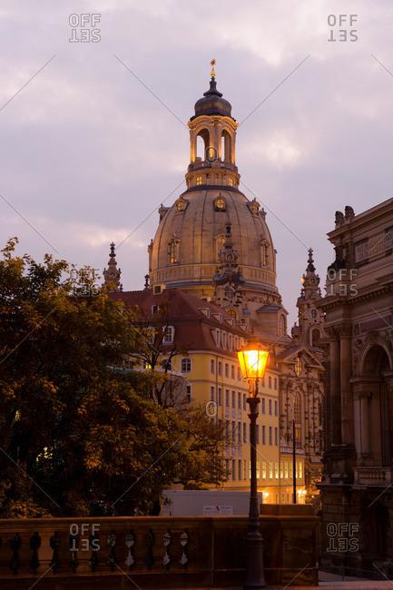 Dresden, Germany - May 20, 2011: Frauenkirche