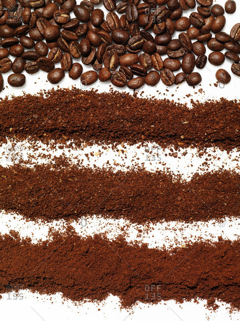 Whole and ground coffee