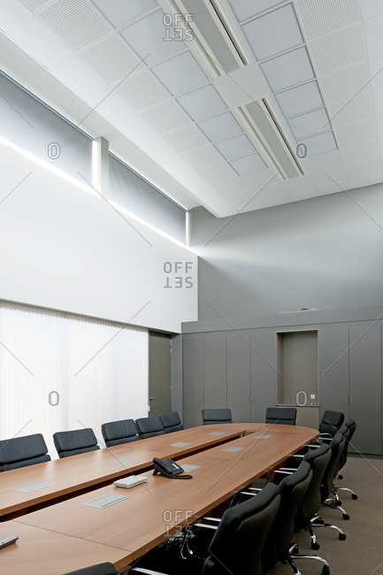 A meeting room in office