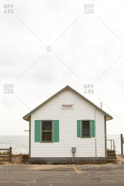 Cape Cod, Massachusetts - September 5, 2011: Days' Cottages on Shore Road in North Truro, Massachusetts
