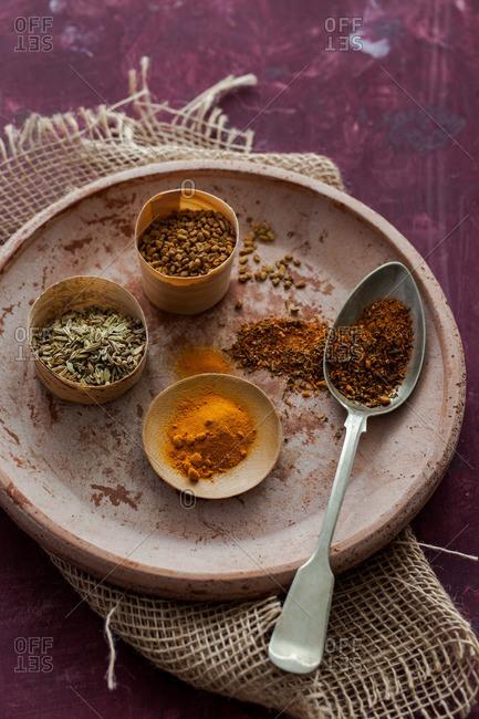 Cheela Indian savory pancake ingredients
