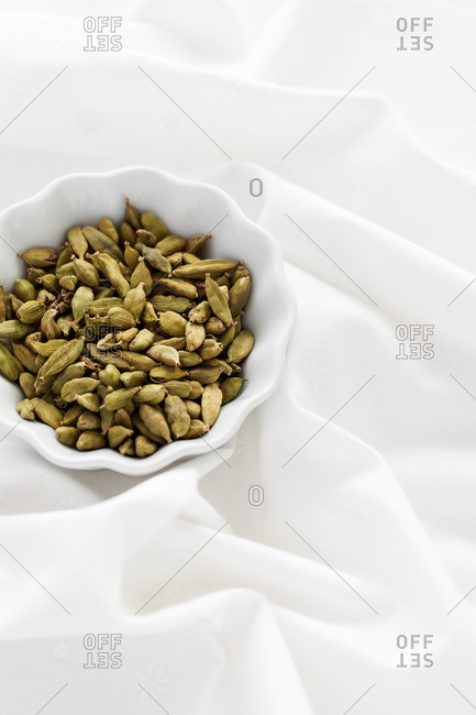Spice on a white background
