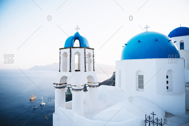 Greece- Santorini- Oia- Greek Orthodox Church