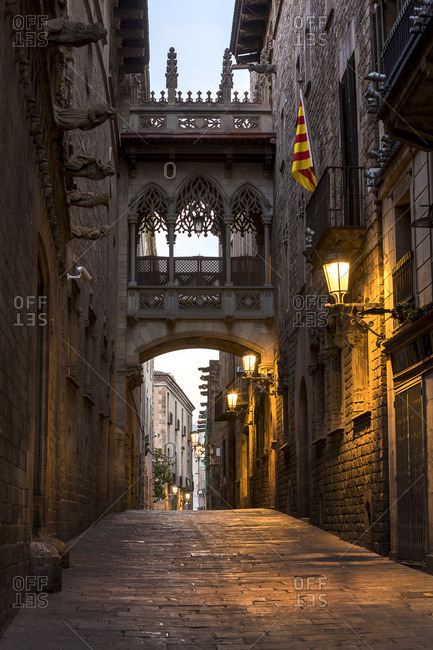 Spain- Barcelona- Barri Gotic