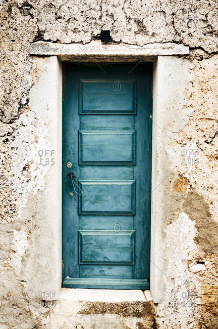 A weathered door in Portugal
