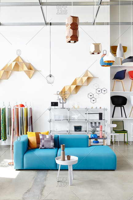 May 28, 2015: Interior of a home goods store