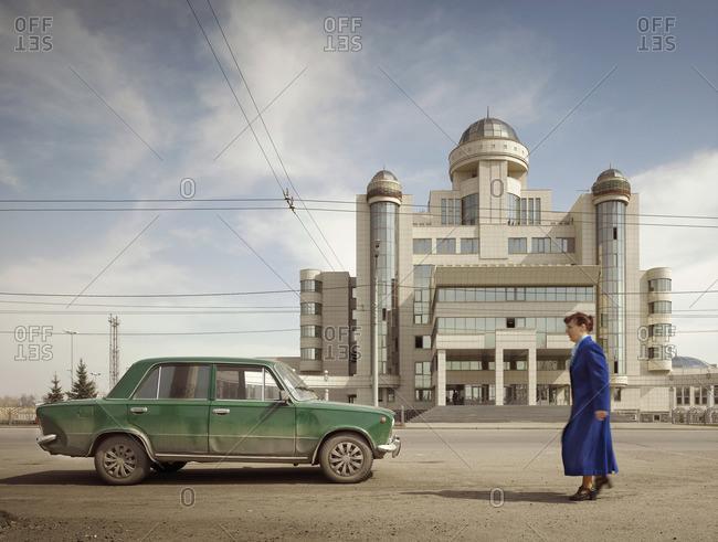 April 21, 2010: Police headquarters building in Kazan