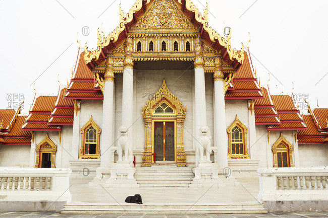 Wat Benjamabopit located in Bangkok, Thailand