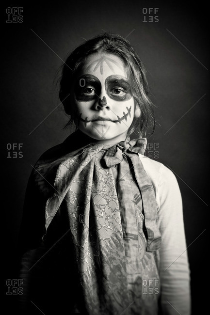 November 3, 2011: Girl with Day of the Dead makeup