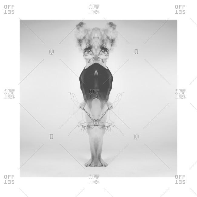 January 2, 2013: Woman in symmetry