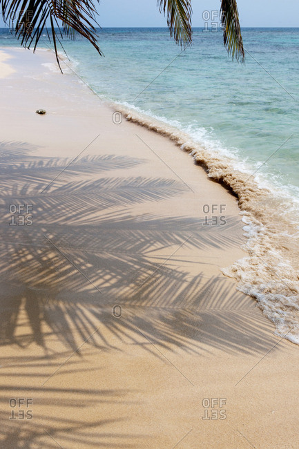 pristine beach at San Blas Islands