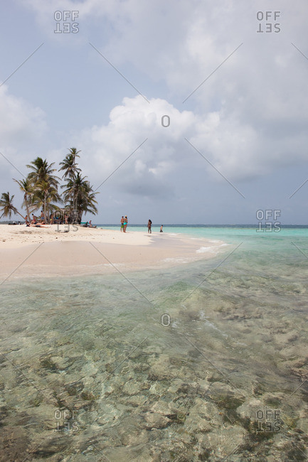 pristine beach at San Blas Islands