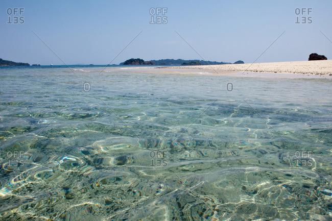 pristine beach at Cobia National Park