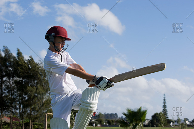 Auckland, cricket player