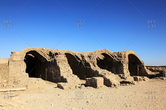 Ramesseum temple Egypt - Offset Collection