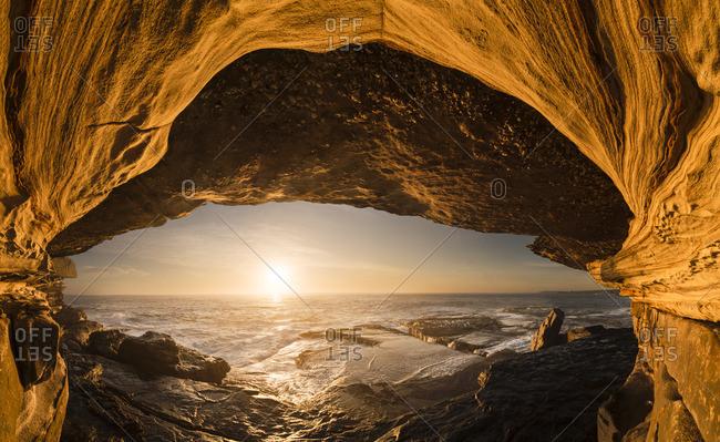 Australia, New South Wales, Clovelly, shark point