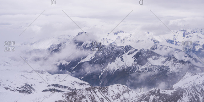 Germany, Bavaria, Allgaeu, Allgaeu Alps, Hoefats in winter