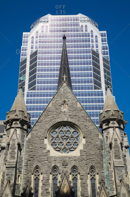 Christ church cathedral Montreal