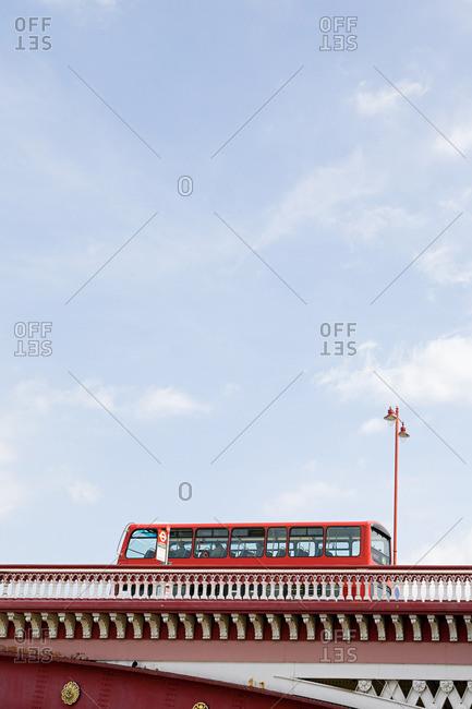 Bus on blackfriars bridge