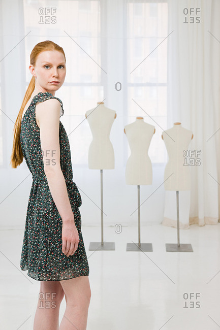 Fashion designer and tailors dummies